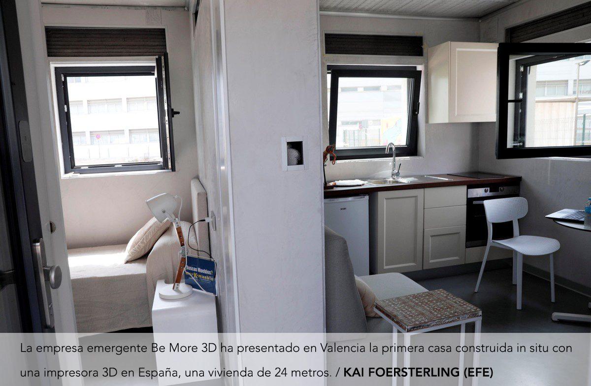 La primera casa construida con impresora 3D en España ya es una realidad
